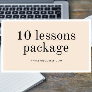 10 Spanish lessons package
