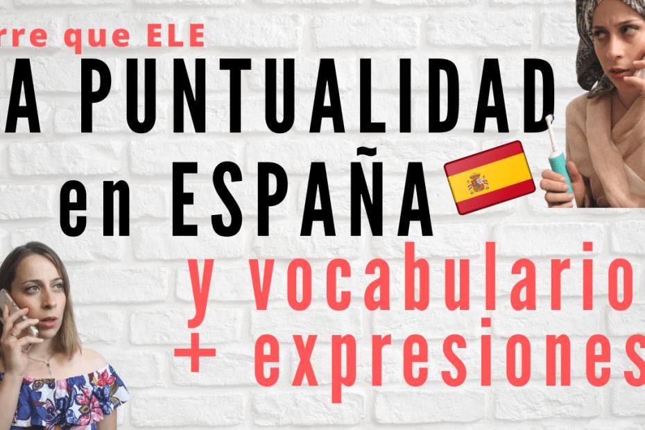 La puntualidad en España