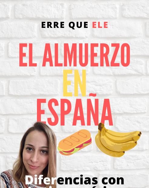 El almuerzo en España