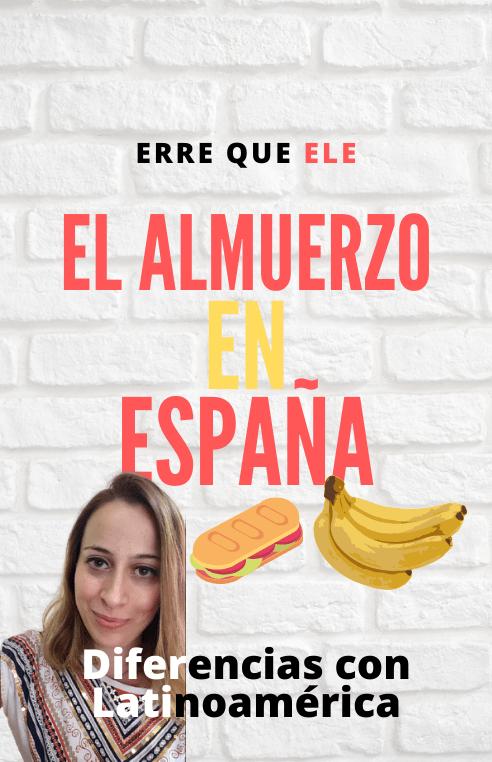 El almuerzo en España insta